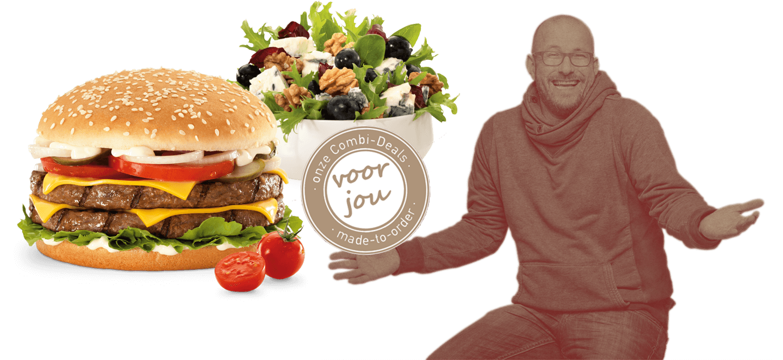 Hamburger bestellen Almere
