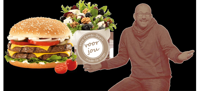 hamburger bestellen Rotterdam